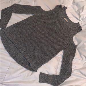 Peek a boo sweater